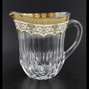 Adagio J AEGW Jug 1230ml 1pc in Flora´s Empire Golden White Decor (21-597)