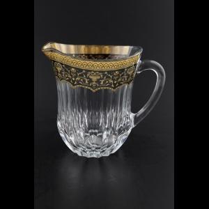 Adagio J AEGB Jug 1230ml 1pc in Flora´s Empire Golden Black Decor (26-597)
