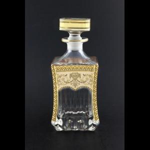 Adagio WD AEGI Whisky Decanter 820ml 1pc in Flora´s Empire Golden Ivory Decor (25-598)
