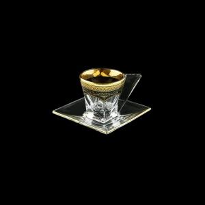 Fusion ES FEGB Cup Espresso 76ml 1pc in Flora´s Empire Golden Black Decor (26-246)