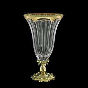 Panel VVZ PMGB CH Vase 33cm 1pc in Lilit Golden Black Decor (31-174/JJ02)