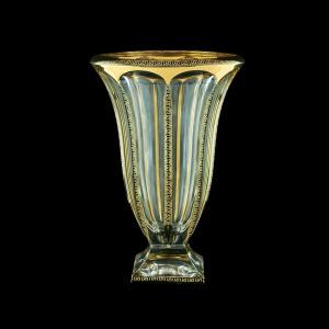 Panel VV PAGB B Vase 33cm 1pc in Antique Golden Black Decor (57-325/b)