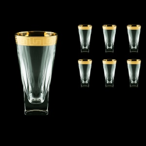 Fusion B0 FAGC b Water Glasses 384ml 6pcs in Antique Golden Classic Decor (398/b)