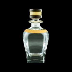 Fusion WD FAGC b Whisky Decanter 800ml 1pc in Antique Golden Classic Decor (435/b)