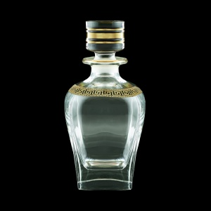 Fusion WD FAGB b Whisky Decanter 800ml 1pc in Antique Golden Black Decor (57-435/b)
