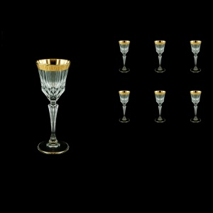 Adagio C5 AAGC b Liqueur Glasses 80ml 6pcs in Antique Golden Classic Decor (480/b)