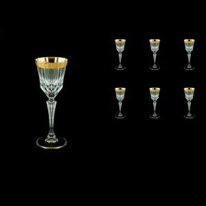Adagio C5 AAGC b Liqueur Glasses 80ml 6pcs in Antique Golden Classic Decor (480/b)
