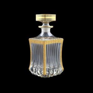 Adagio WD AAGC b Whisky Decanter 820ml 1pc in Antique Golden Classic Decor (487/b)