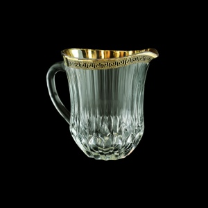 Adagio J AAGB b Jug 1230ml 1pc in Antique Golden Black Decor (57-488/b)