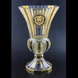Adagio VVA AOGB Vase 35cm 1pc in Lilit&Leo Golden Black Decor (41-405)