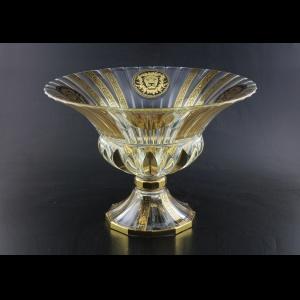 Adagio MVA AOGB B Bowl 35x25cm 1pc in Lilit&Leo Golden Black Decor (41-414)
