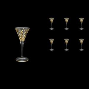 Laurus C5 LLG Liqueur Glasses 60ml 6pcs in Gold (1319)