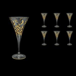 Laurus C2 LLG Wine Glasses 210ml 6pcs in Gold (1320)