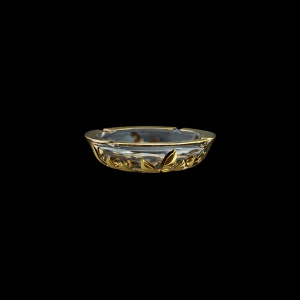 Laurus PO LLG Ashtray d18cm 1pc in Gold (1330)