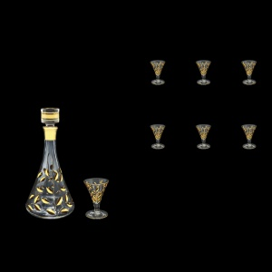 Laurus Set CD+C55 LLG Liqueur Set 500ml+6x60ml 1+6pcs in Gold (1323/1322)