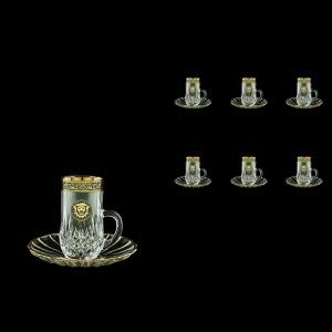 Opera ES OOGB  Espresso 50ml 6pcs in Lilit&Leo Golden Black Decor (41-502/6)