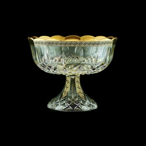Opera MVO OAGB b Large Bowl d23cm 1pc in Antique Golden Black Decor (57-410/b)