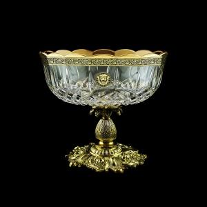 Opera MVZ OOGB Large Bowl d23cm 1pc in Lilit&Leo Golden Black Decor (41-410/JJ02)