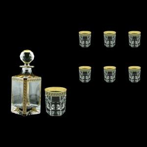 Provenza Set WD+B2 PAGB 1x750ml+6x280ml 1+6 pc in Antique Gold Black (57-134/136/b)