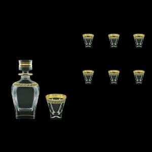 Fusion Set WD+B3 FAGB b 800ml+6x200ml 1+6pcs in Antique Golden Black (57-435/437/b)