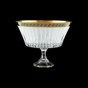 Timeless MVN TAGB S Bowl d24,5cm 1 pc in Antique Golden Black Decor+S (57-116/b)