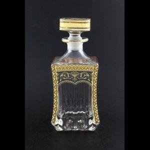 Adagio WD AEGB Whisky Decanter 820ml 1pc in Flora´s Empire Golden Black Decor (26-598)