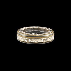 Look PO LELW Ashtray d18,5cm 1pc in Flora´s Empire Golden White Light Decor (21-705/L)