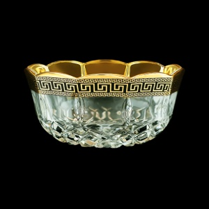 Opera MM OAGB Small Bowl d12cm 1pc in Antique Golden Black Decor (57-202/b)