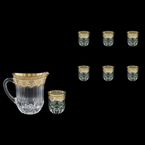 Adagio Set J+B2 AEGI 1230ml+6x350ml 1+6pcs in Flora´s Empire Golden Ivory D. (25-597/595)