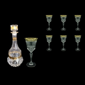 Adagio Set RD+C2 AMGB 1x1000ml + 6x280ml in Lilit Golden Black Decor (31-489/483)