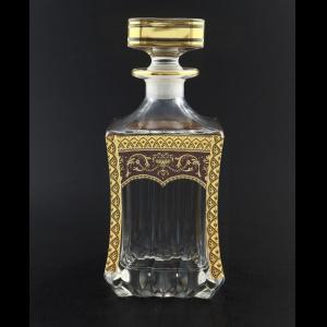 Adagio WD AEGR Whisky Decanter 820ml 1pc in Flora´s Empire Golden Red Decor (22-598)