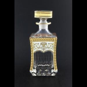 Adagio WD AEGW Whisky Decanter 820ml 1pc in Flora´s Empire Golden White Decor (21-598)