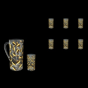 Laurus Set J+B9 LLG Beer Set Bibita 1200ml+6x250ml 1+6pcs in Gold (1337/1338)