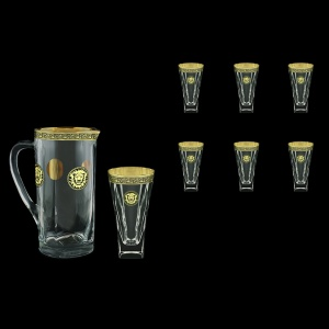 Fusion Set J+B0 FOGB Water 1230ml+6x384ml 1+6pcs in Lilit&Leo Gold. Black D. (41-399/398)