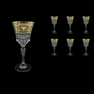Adagio C2 AELK Wine Glasses 280ml 6pcs in Flora´s Empire G. Crystal Light (20-593/L)
