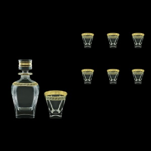 Fusion Set WD+B2 FAGB b 800ml +6x270ml 1+6pcs in Antique Golden Black (57-435/397/b)