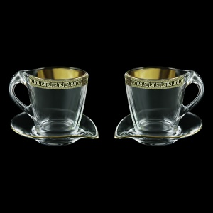 Mamanonmama CA MAGB b Cappuccino 260ml 2pcs in Antique Golden Black (57-333/2/b)