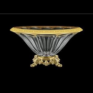 Panel MVZ PMGB CH Large Bowl 33cm 1pc in Romance Golden Black Decor (33-175/O.25)