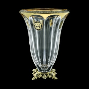 Panel VVZ POGB Vase 33cm 1pc in Lilit&Leo Golden Black Decor (41-174/O.245)