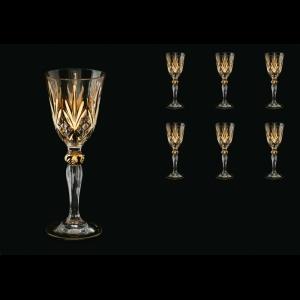 Melodia C5 MPG Liqueur Glasses 50ml 6pcs in Platinum&Gold (1202)
