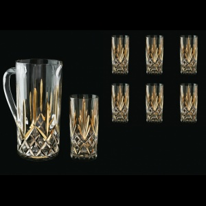 Melodia Set J+B0 MPG 1x1560+6x360ml 1+6pcs in Platinum&Gold (1201/1205)