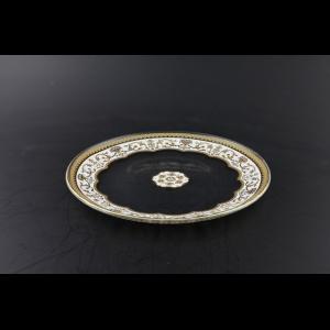 Full Moon CP FELW Cake Plate d21cm 1pc in Flora´s Empire Golden White Light D. (21-735/L)