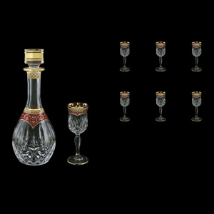 Opera Set RD+C5 OEGR Set 1x500ml+6x60ml 1+6pcs in Flora´s Empire Gold. Red D. (22-187)