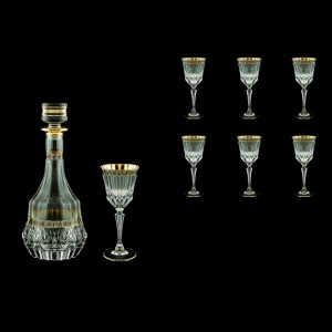 Adagio Set RD+C4 AAGB b 1x1000ml + 6x150ml 1+6pcs in Antique Golden Black (57-489/481/b)