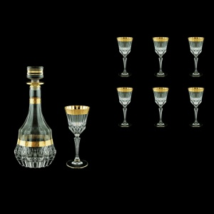 Adagio Set RD+C4 AAGC b 1x1000ml + 6x150ml 1+6pcs in Antique Golden Classic (489/481/b)