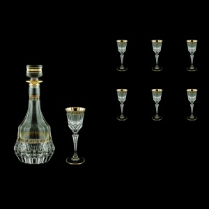 Adagio Set RD+C5 AAGB b 1x1000ml + 6x80ml 1+6pcs in Antique Golden Black (57-489/480/b)