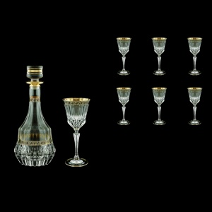 Adagio Set RD+C3 AAGB b 1x1000ml + 6x220ml 1+6pcs in Antique Golden Black (57-489/482/b)