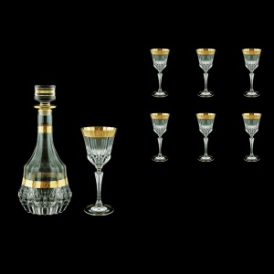 Adagio Set RD+C3 AAGC b 1x1000ml + 6x220ml 1+6pcs in Antique Golden Classic (489/482/b)
