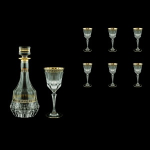 Adagio Set RD+C2 AAGB b 1x1000ml + 6x280ml 1+6pcs in Antique Golden Black (57-489/483/b)