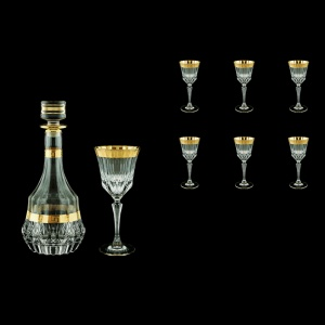 Adagio Set RD+C2 AAGC b 1x1000ml + 6x280ml 1+6pcs in Antique Golden Classic (489/483/b)